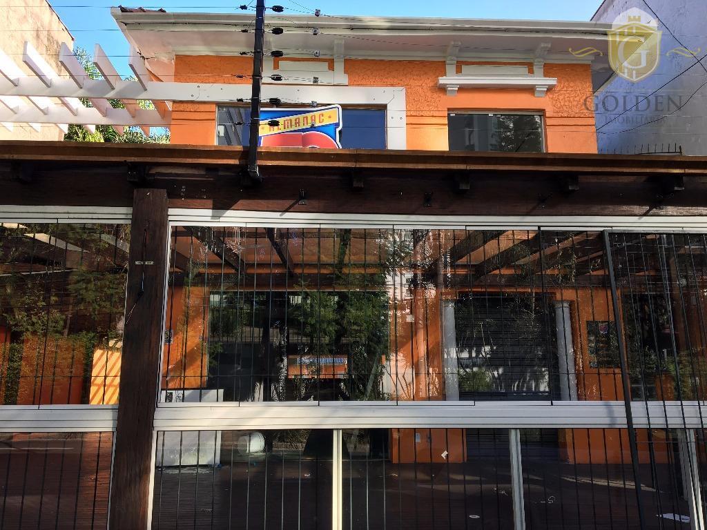 Casa comercial para locação, Floresta, Porto Alegre.