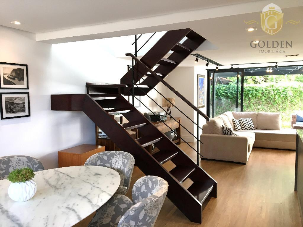 fina residência, no bairro ipanema, em condomínio fechado de alto padrão na zona sul com 24...