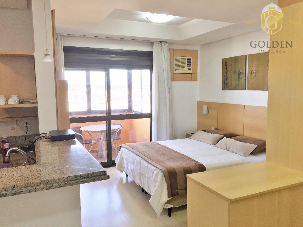 Apartamento, Mobiliado, 38 m²., Estilo Estúdio. Rua Ramiro Barcelos, Bairro Bom Fim / Independência. Porto Alegre.