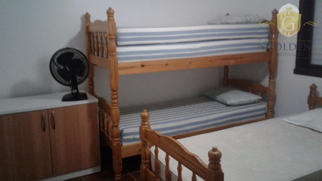 casa na praia de xangri-lá, com 05 dormitórios, 01 suite, 04 banheiros, mobiliada. anexo nos fundos,...