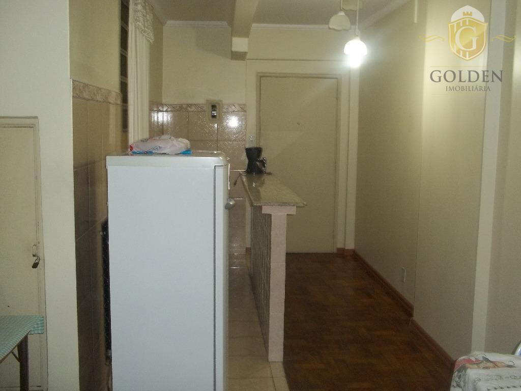 vende excelente imóvel misto 01 dormitório serve como apartamento ou conjunto comercial, na galeria santa catarina,...