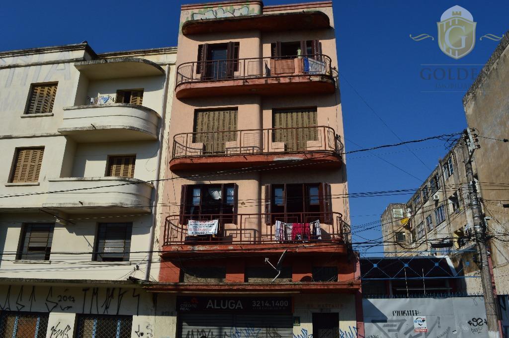 Apartamento residencial à venda, Floresta, Porto Alegre.