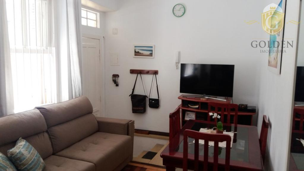 Apartamento de 1 dormitório no Centro Histórico