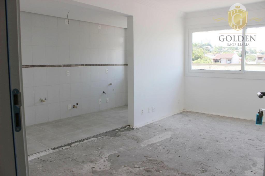 Apartamento novo com 1 dormitório e 1 vaga no bairro Santo Antônio