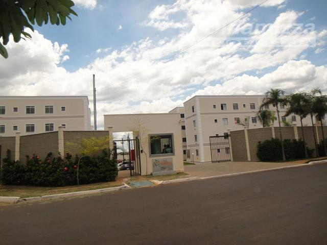 Apartamento residencial para locação, Conjunto Umuarama, Uberaba - AP0926.