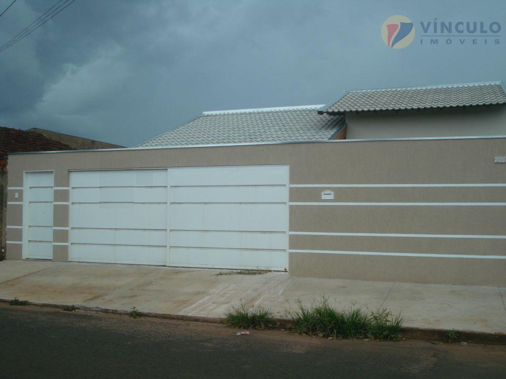 Casa residencial à venda, Recreio dos Bandeirantes, Uberaba - CA0601.