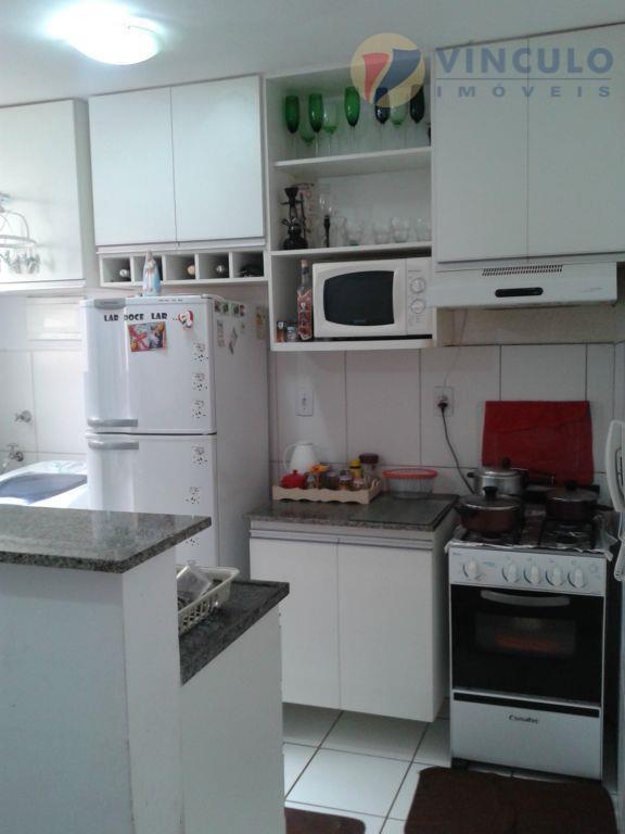 Apartamento residencial à venda, Santa Maria, Uberaba - AP0664.