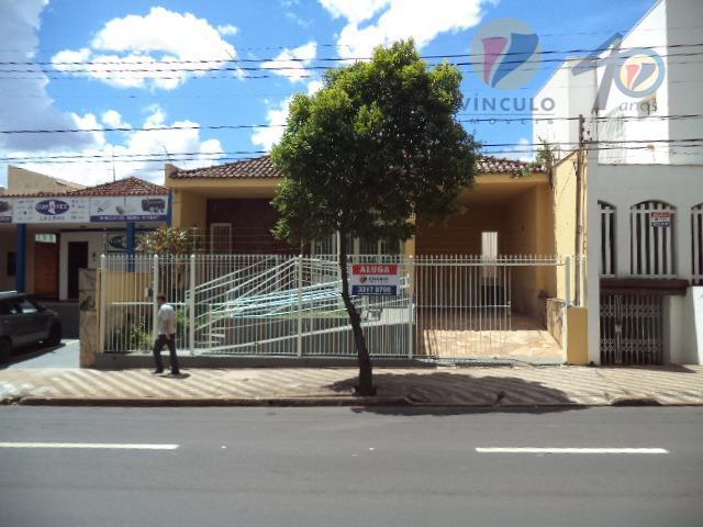 Casa  comercial/residencial para locação, Centro, Uberaba.