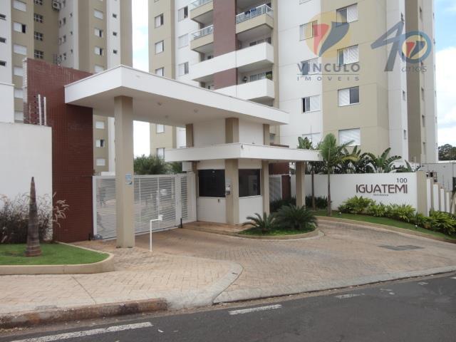 Apartamento residencial para locação, Santa Maria, Uberaba - AP0341.