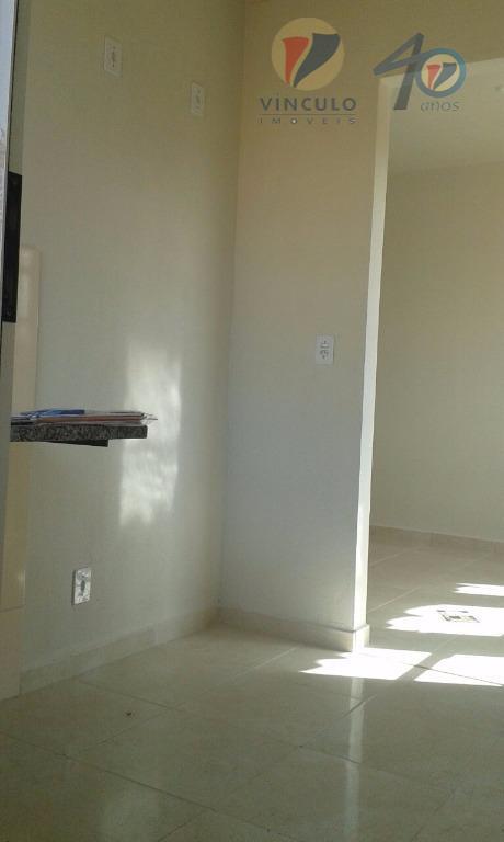 casa, com 46m² 2 quartos , sala , cozinha , banheiro, social, área de serviço 2...