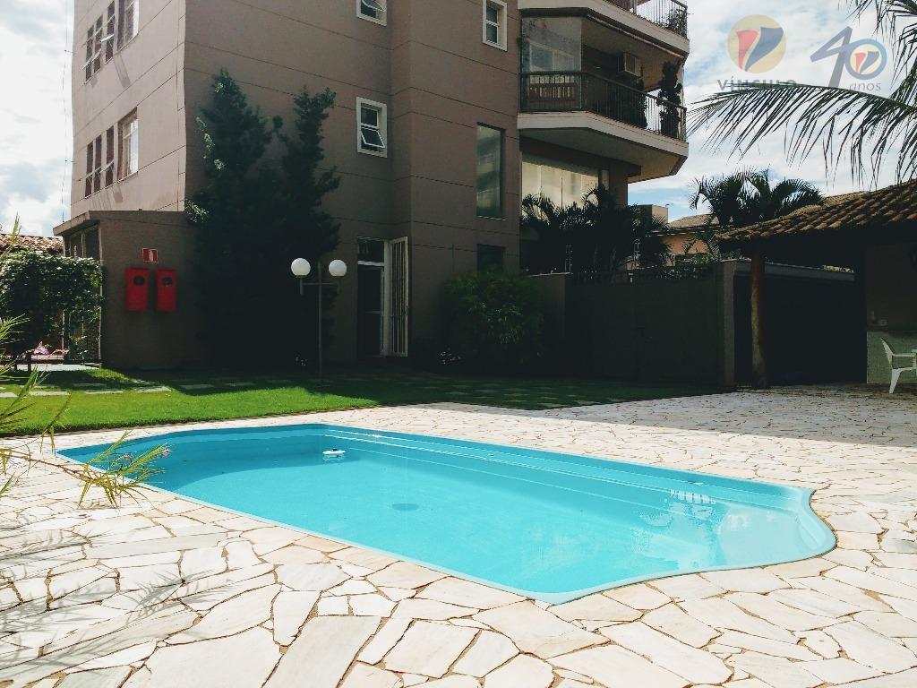 Apartamento residencial à venda, Mercês, Uberaba - AP0104.