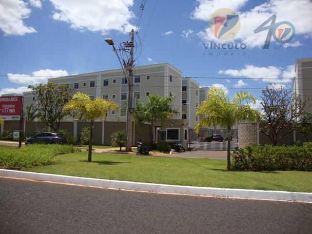 Apartamento residencial para venda e locação, Conjunto Manoel Mendes, Uberaba - AP1613.