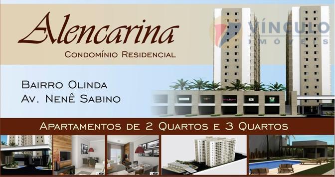 Apartamento residencial à venda, Olinda, Uberaba - AP0191.