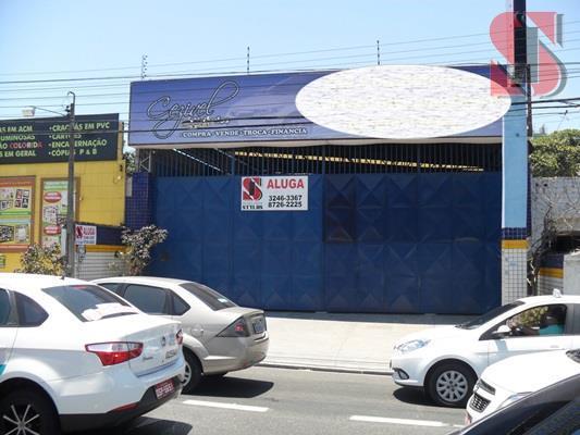Galpão comercial para locação, José Bonifácio