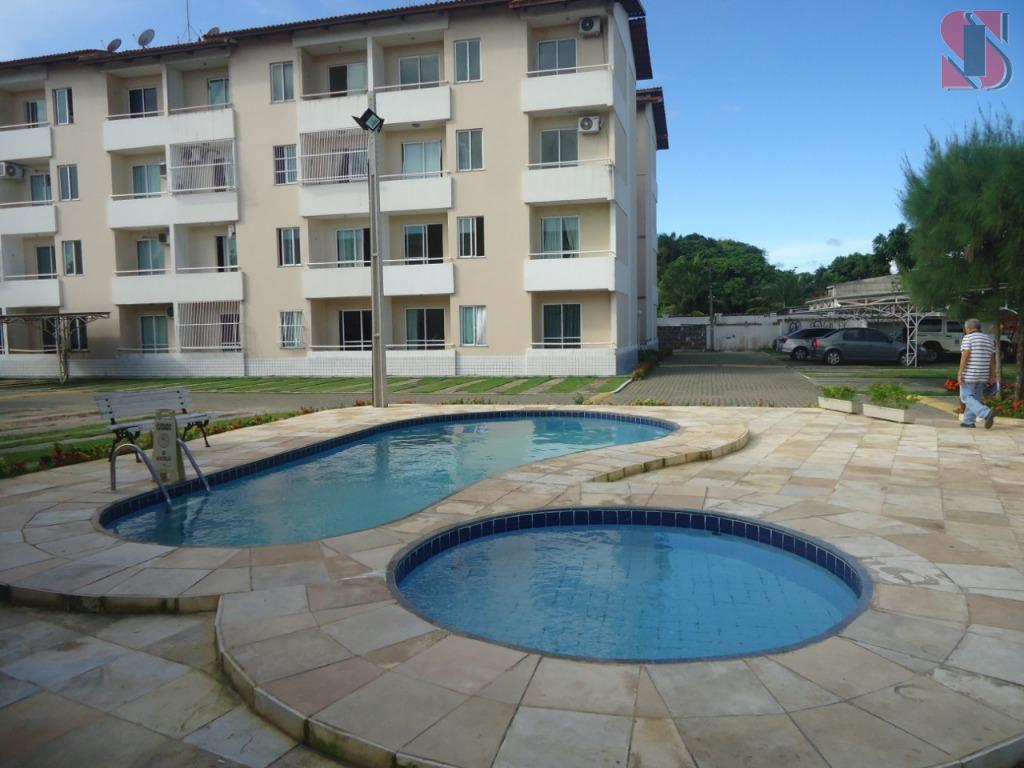 Apartamento novo com 2 quartos no Mondubim
