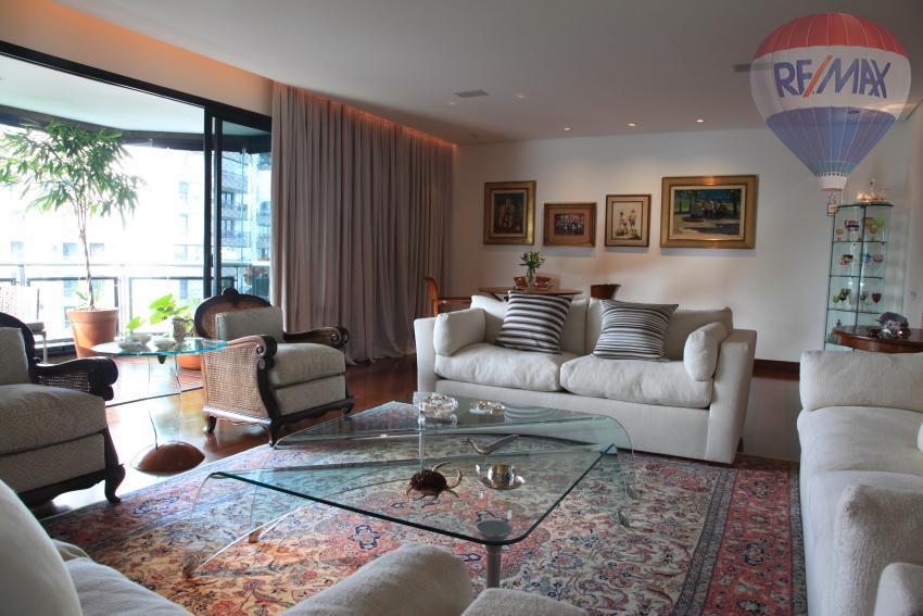 Apartamento residencial para locação, Chácara Santo Antônio, São Paulo - AP1632.