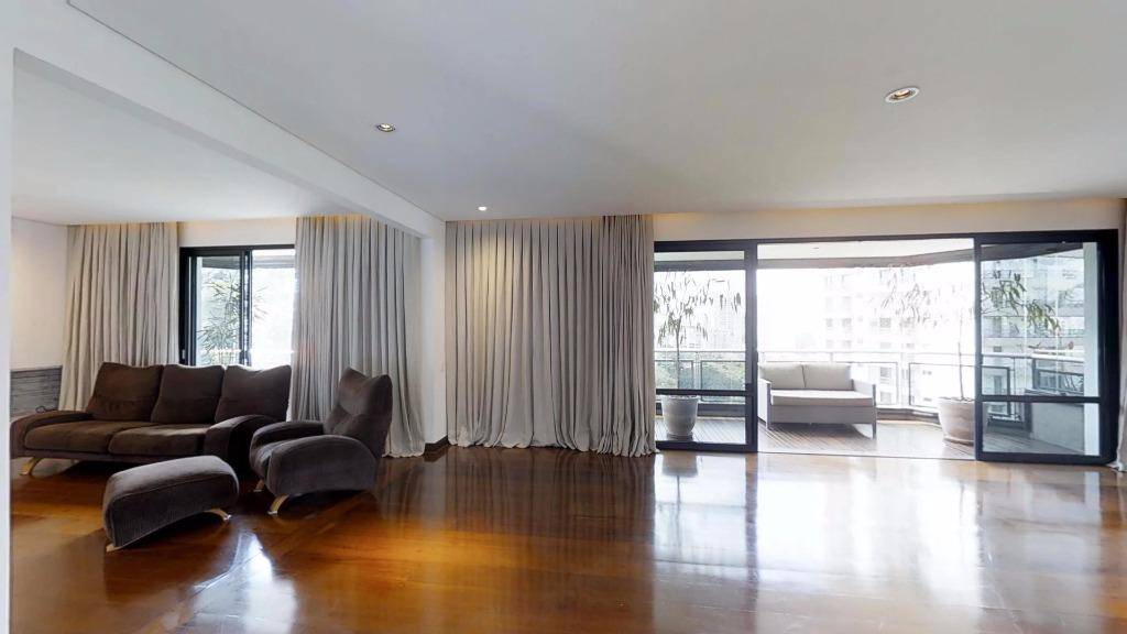 Apartamento residencial para locação, Alto da Boa Vista, São Paulo