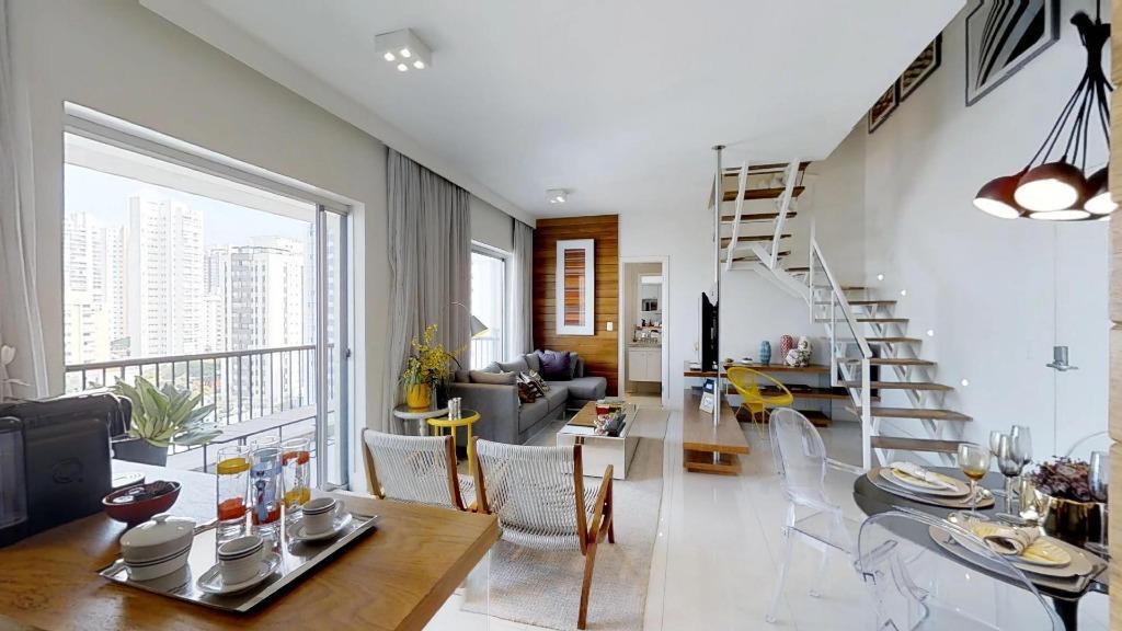 Apartamento residencial à venda, Brooklin, São Paulo - AP1440.