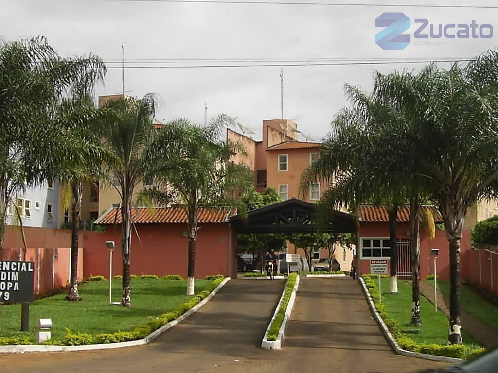 Apartamento residencial para locação, Parque do Mirante, Uberaba - AP1721.