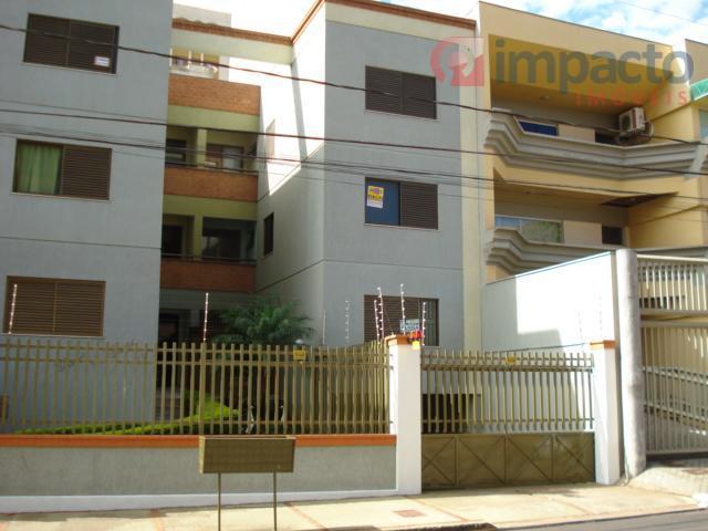 Apartamento residencial para locação, São Benedito, Uberaba - AP0107.