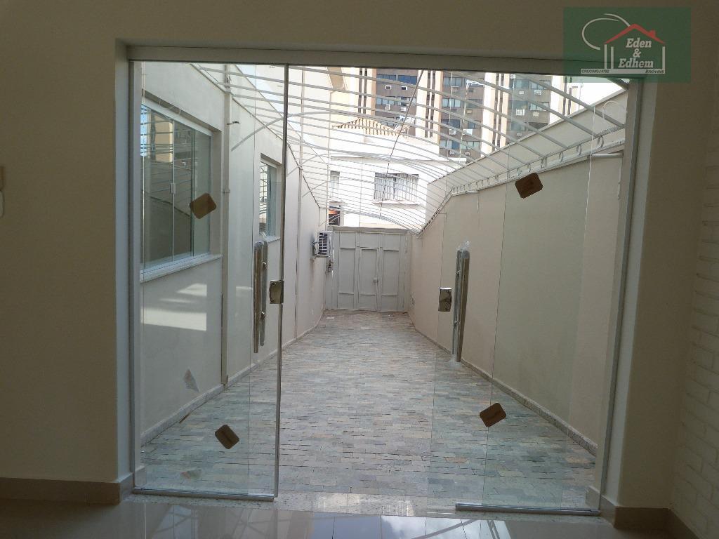 garagem para 3 carros cobertatérreo 01 salão 01 banheiro 01 cozinha com armário 03 salasandar de...
