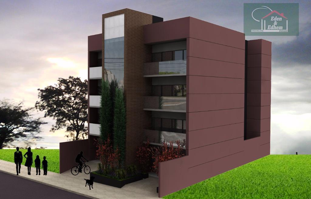 06 apartamentos com medidas de 96,64 m² á 98,56 m²com 03 quartos sendo 01 suíte, sala,...