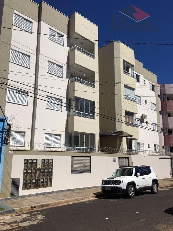 Apartamento residencial mobiliado para locação, Estados Unidos, Uberaba.