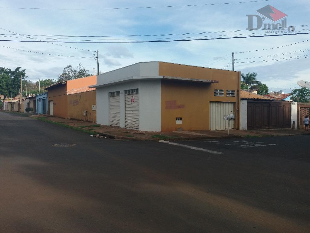 Casa residencial à venda, Conjunto Antônio Barbosa de Souza, Uberaba.