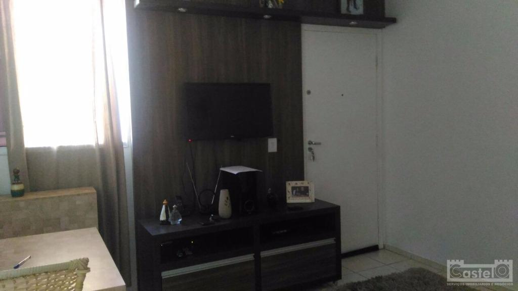 Apartamento residencial à venda, Conjunto Guanabara, Uberaba.