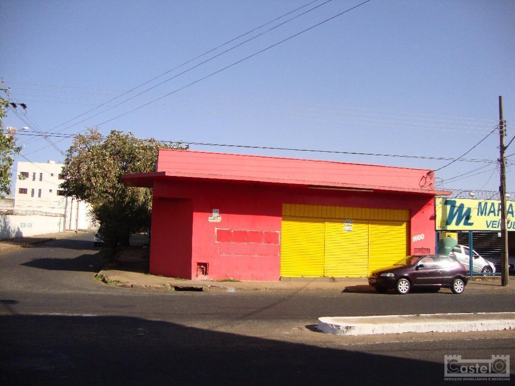 Loja comercial para locação, Leblon, Uberaba.
