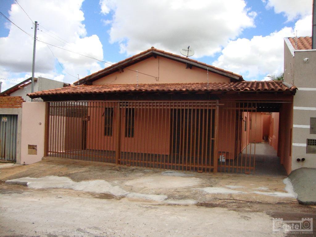 Casa residencial para venda e locação, Dom Eduardo, Uberaba.