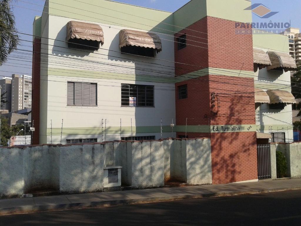 Apartamento  residencial para locação, São Sebastião, Uberaba.