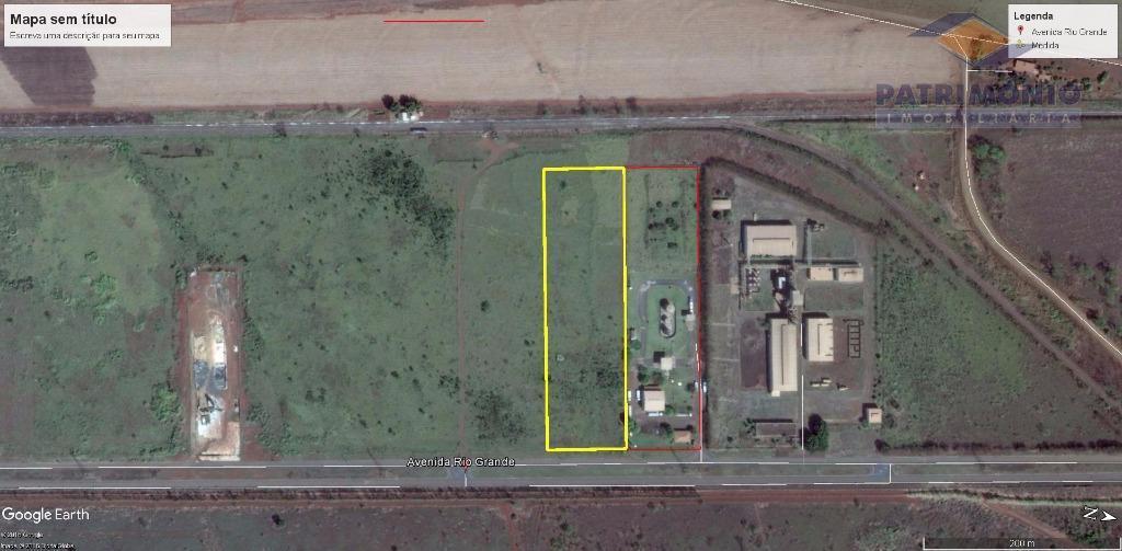 Terreno industrial à venda, Distrito Industrial III, Uberaba.