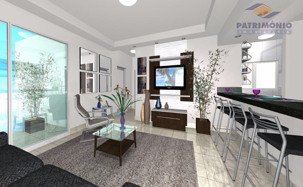 Apartamento residencial à venda, Nossa Senhora da Abadia, Uberaba.