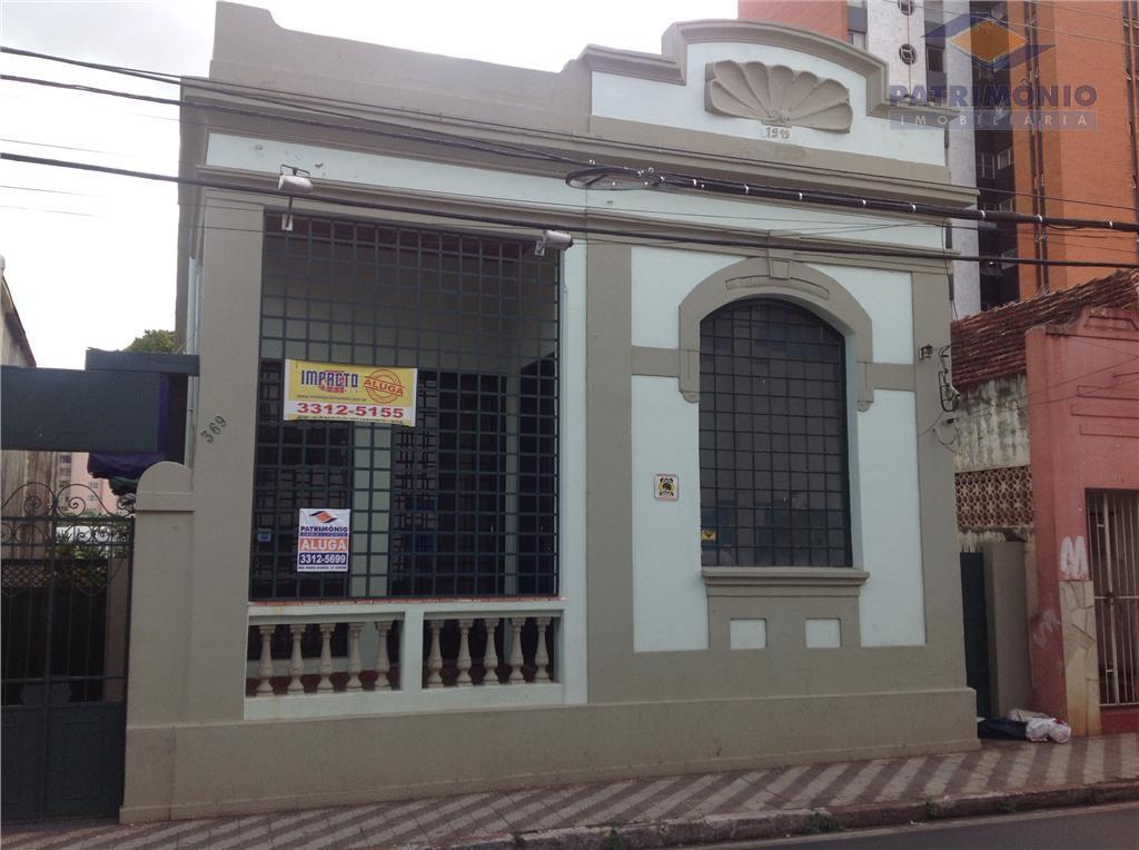 Casa  comercial para locação, Fabrício, Uberaba.