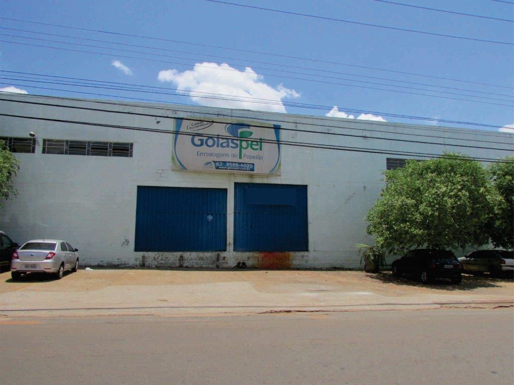 Galpão comercial para locação, Setor Empresarial, Goiânia.