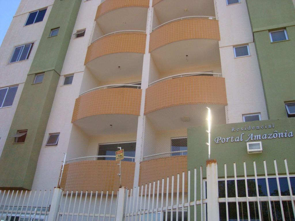 Apartamento residencial para locação, Parque Amazônia, Goiânia.