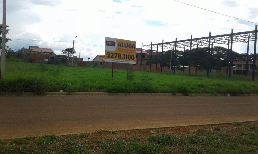 Terreno comercial para locação, Zona Rural , Goianira.