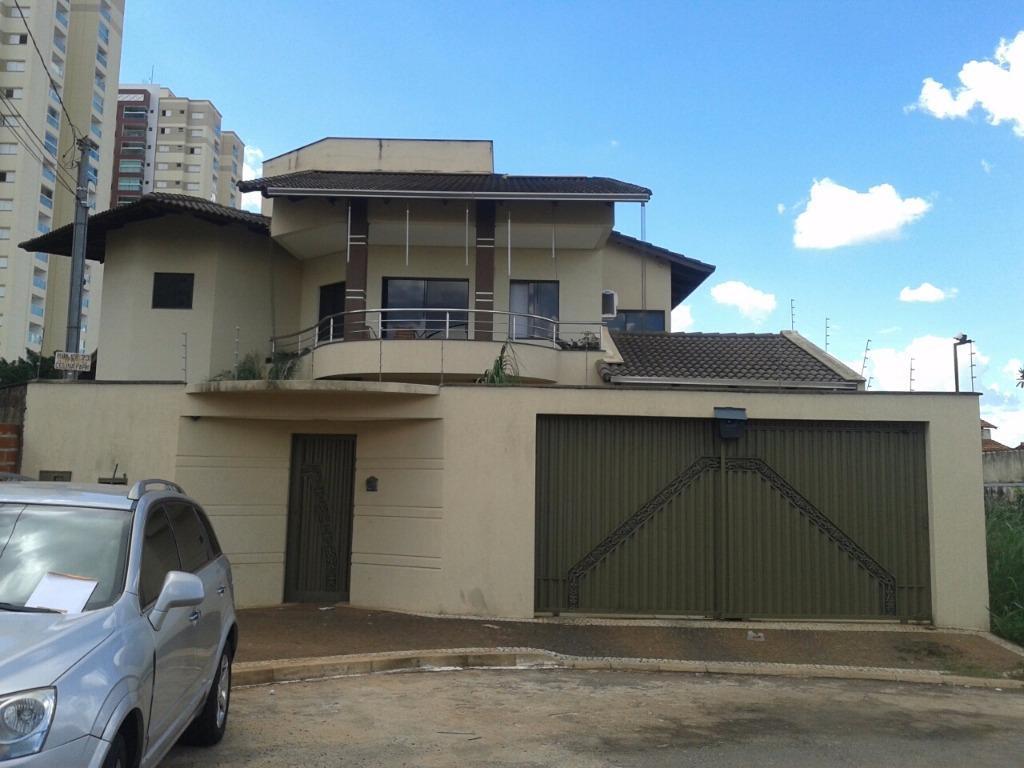Sobrado residencial para locação, Residencial Celina Park, Goiânia.