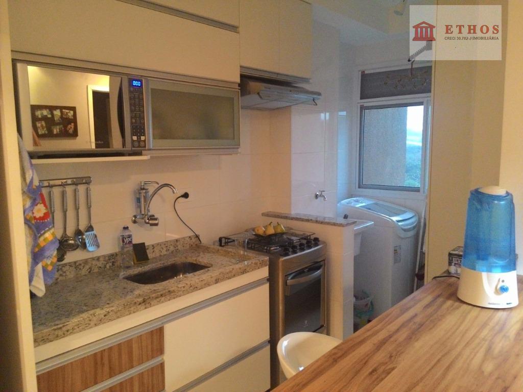 Apartamento 2 dormitorios 100% planejado, Vivendas do Lago, Jardim Satélite, São José dos Campos.