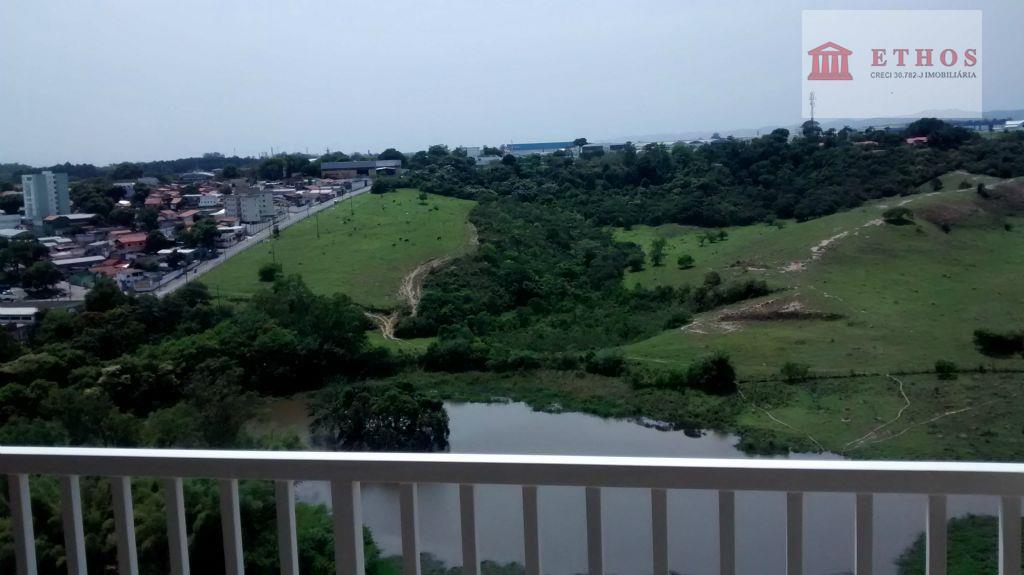 lindo apartamento com excelente vista, R$190 mil, Jardim Satélite, São José dos Campos.