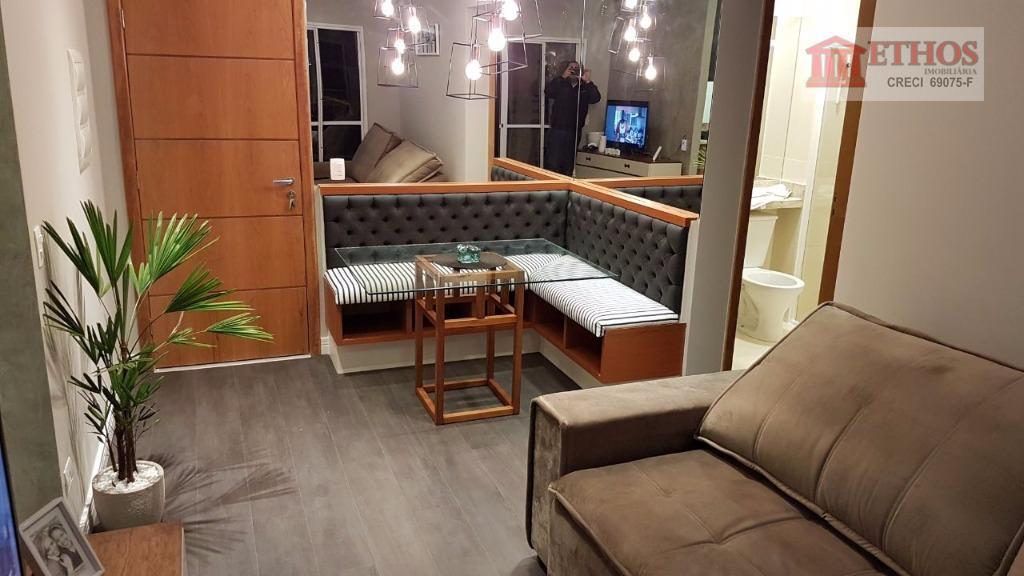 oportunidade única !!! lindo apartamento 2 dormitórios mobiliado