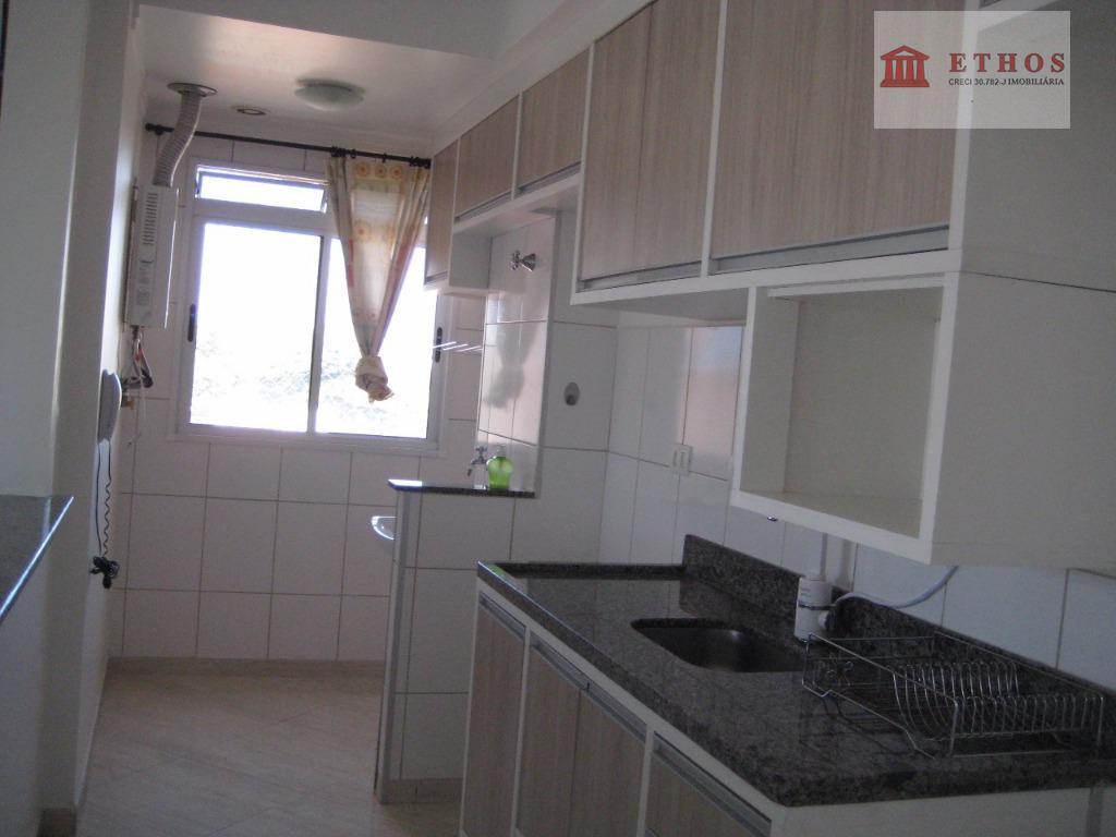 Apartamento 2 dorms Jd Oriente, São José dos Campos, suite e sacada