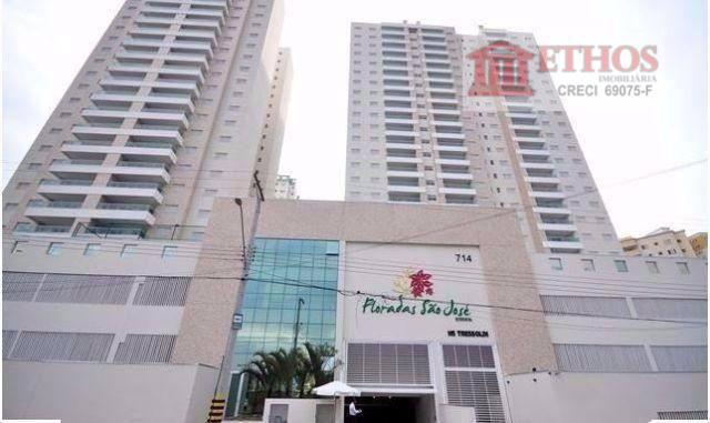 Apartamento 3 dormitórios, Floradas São José, São José dos Campos. Aceita troca por casa