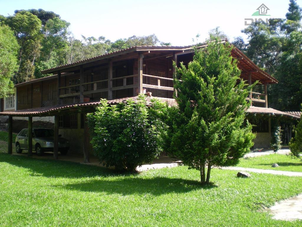 LINDA CHÁCARA NO CONDOMÍNIO SERRA DA GRACIOSA, BAIRRO CAMPININHA, QUATRO BARRAS/PR. ÁREA 6.411m².