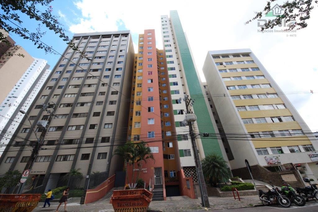 Ótimo apartamento  para locação, 1 Dormitório, Cristo Rei, Curitiba.