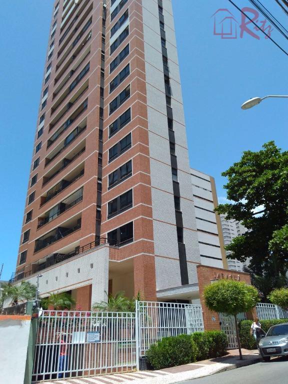 Apartamento residencial à venda, Meireles, Fortaleza.