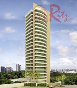 Luxuosos Apartamentos 04 vgs., Banheira Hidromassagem vom vista definitiva para Pq. do Cocó
