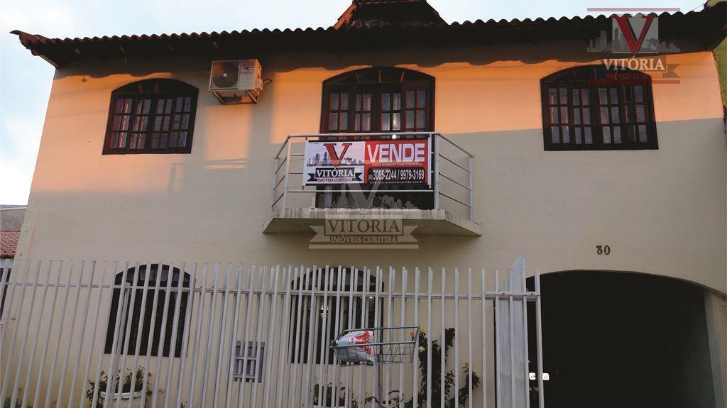 Aceita Apartamento como parte de pagamento - Sobrado Santo Antônio, São José dos Pinhais - SO0107.
