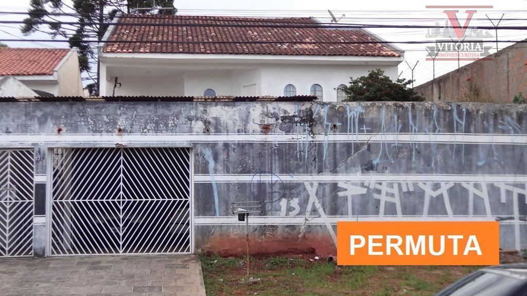 Casa com terreno para troca à venda, Alto Boqueirão, Curitiba - CA0117.